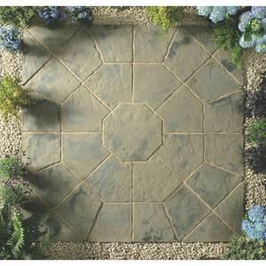 Stylish Stone Belfrey Octagon Kit 2.3m - Rustic Sage