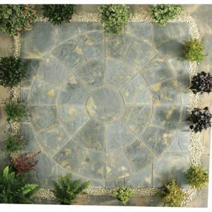 Stylish Stone Chantry Circle Kit 2.4m - Antique