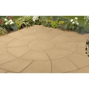 Stylish Stone Chantry Twist Circle 2.4m - Gold