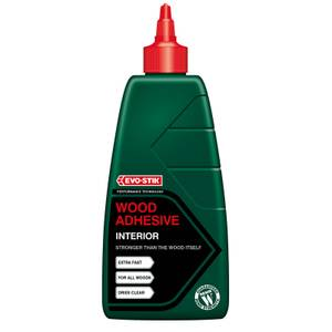 Evo-Stik Resin Wood Adhesive Interior Bottle - 1L
