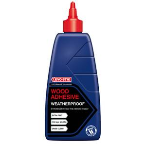Evo-Stik Resin Wood Adhesive Exterior Bottle - 1L