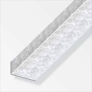Galvanised Steel Unequal Angle Profile - 1m x 23.5 x 43.5mm