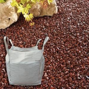 Stylish Stone Red Chippings - Bulk Bag 750 kg