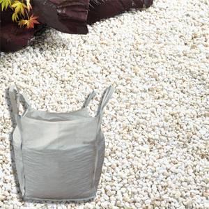 Stylish Stone Premium Alpine White Chippings - Bulk Bag 750 kg