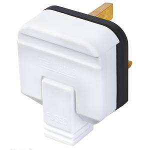 Masterplug 13A Heavy Duty Rewirable Plug Socket White