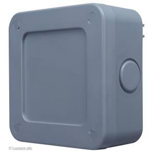 BG 5 Way Terminal Weatherproof Junction Box IP66 Rated Grey