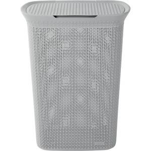 Ezy Storage Mode 57L Laundry Hamper - Grey