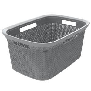 Ezy Storage Mode 45L Laundry Basket - Grey