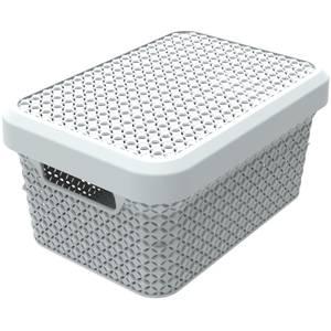 Ezy Storage Mode 5L Storage Basket with Lid - Lily