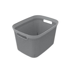 Ezy Storage Mode 25L Open Basket - Grey