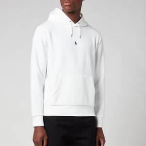 Polo Ralph Lauren Men's Double Knit Hoodie - White