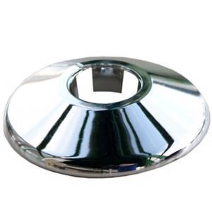 Oracstar Radiator Pipe Collars - Chrome - 22mm