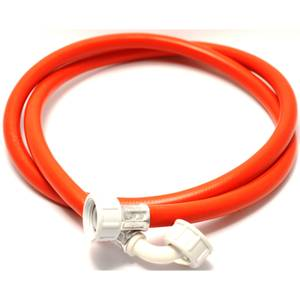Inlet Hose 2.5m 90 Degree Bend Red