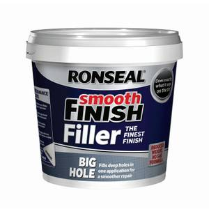 Ronseal Big Hole Wall Filler White - 1200ml