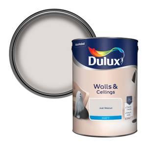 Dulux Just Walnut - Matt Emulsion Paint - 5L