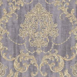 Grandeco Lauretta Damask Grey HWVWallpaper