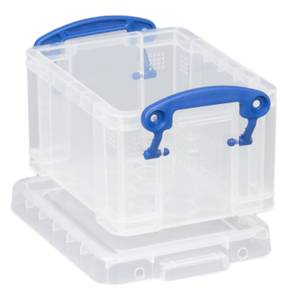 Really Useful Storage Box - Clear - 0.3L