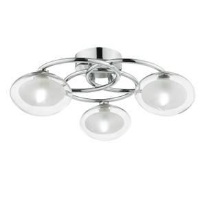 Hoop 3 Arm Semi-Flush Ceiling Light