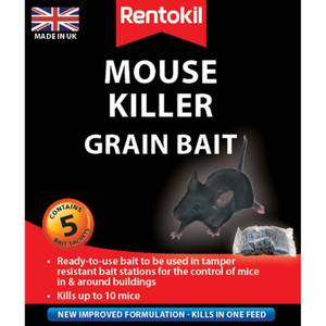 Rentokil Mouse Killer Sachets (Pack of 5)