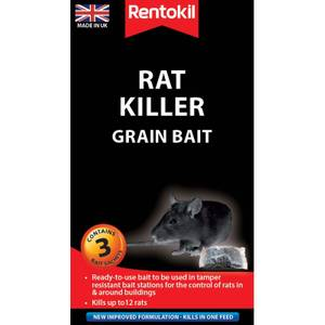 Rentokil Rat Killer Sachets (Pack of 3)