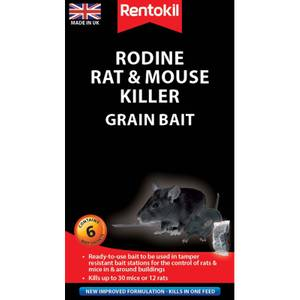Rentokil Rat & Mouse Killer Sachets (Pack of 6)