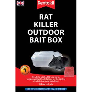 Rentokil Pre-loaded Rat Bait Station