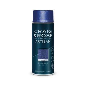 Craig & Rose Artisan Diamond Effect Spray Paint - Diamond Blue - 400ml