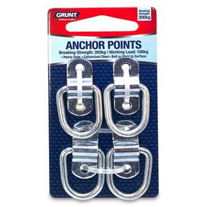 Grunt Anchor Points Bracket - Pack of 4