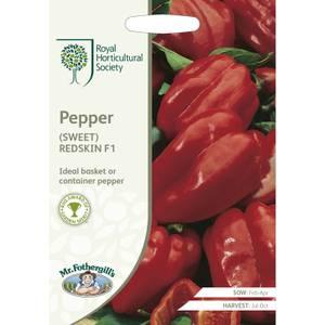 RHS Pepper (Sweet) Redskin F1 Seeds