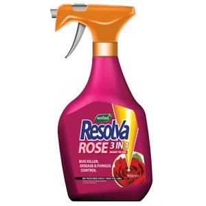 Resolva Rose 3-in-1 Bug Killer, Disease & Fungus Control - 800ml
