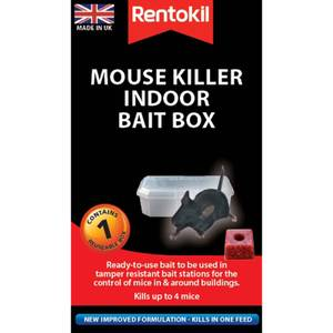 Rentokil Pre-Loaded Mouse Bait Station