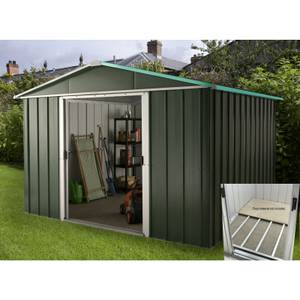 10x8ft Hercules Metal Shed & Floor Frame