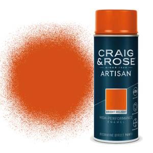 Craig & Rose Artisan Enamel Gloss Spray Paint - Bright Delight - 400ml