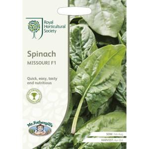 RHS Spinach Missouri F1 Seeds
