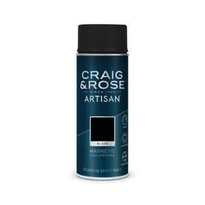 Craig & Rose Artisan Magnetic Chalkboard Spray Paint - Black - 400ml