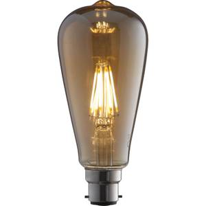 LED Filament ST64 6W B22 Vintage Light Bulb