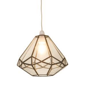 Philomena Octagonal Glass Easy Fit Pendant Shade