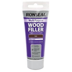 Ronseal Multipurpose Wood Filler Tube - Dark - 100g
