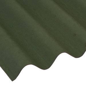 Coroline Green Roof Sheet 2m - Pack 5