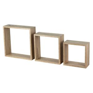 3 Wall Cubes - Sanoma Oak