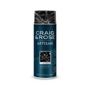 Craig & Rose Artisan Marble Effect Spray Paint - White - 400ml