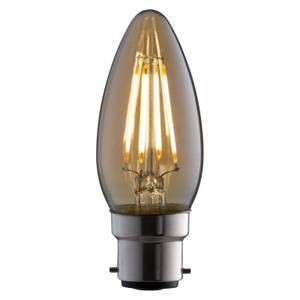 LED Filament Candle 4W B22 Vintage Light Bulb