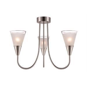 Regan 3 Light Glass Pendant