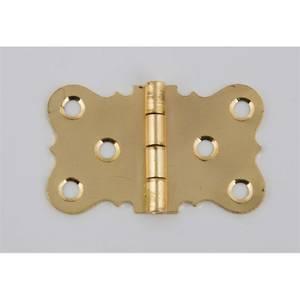 Hafele Seat Hinge - Electro Brass - 38 x 65mm - 2 Pack