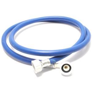 Inlet Hose 1.5m 90 Degree Bend Blue