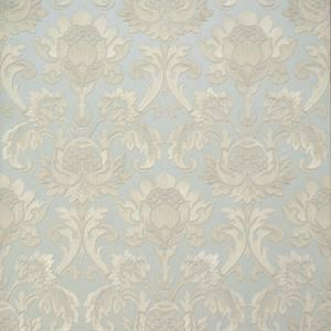 Belgravia Decor Sorrentino Plain Embossed Metallic Wedgewood Wallpaper