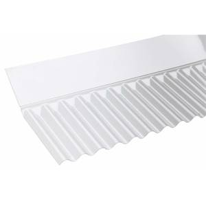 Corolux Mini Wall Flashing Clear - Pack 6