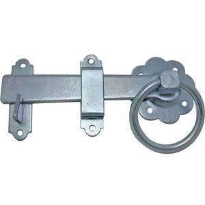 Ring Gate Latch - 15.2cm, Zinc