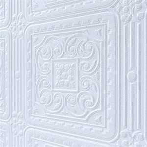 Anaglypta Luxury Vinyl Turner Tile Paintable Wallpaper