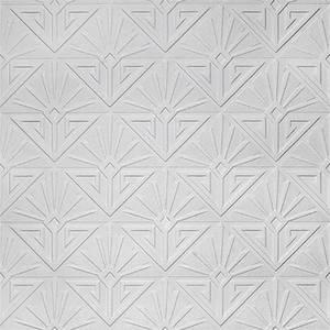Anaglypta Luxury Vinyl Deco Paradiso Paintable Wallpaper